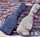 個性搖滾加厚電吉他電貝斯包背包貝司琴盒琴包吉他袋套 FF4272【衣好月圓】