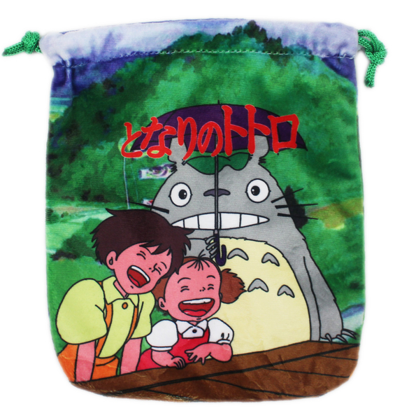 【卡漫城】龍貓 束口袋 雙面同圖案 Totoro 龍貓公車 巴士 豆豆龍 相機包 零錢包 收納袋 手機袋