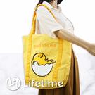 ﹝三麗鷗大容量購物袋﹞正版尼龍收納袋 購物肩背袋 Kitty 蛋黃哥〖LifeTime一生流行館〗