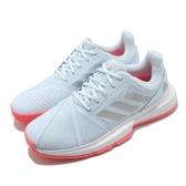 adidas 網球鞋 CourtJam Bounce W 藍 銀 女鞋 運動鞋 【ACS】 FU8146