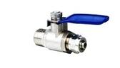 3 分考克金屬球閥進水控制開關各種RO 逆滲透電解水機活水機能量機淨水器