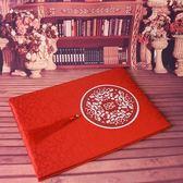 深情時刻 簽到本婚禮禮金本禮單嘉賓禮簿結婚簽名冊中式題名冊   初見居家