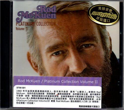 【停看聽音響唱片】【CD】Rod McKuen:Platinum Collection Volume 2