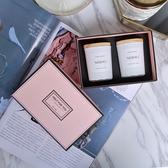 香薰蠟燭禮盒臥室精油香氛蠟燭歐式浪漫香薰生日家用伴手禮蠟燭