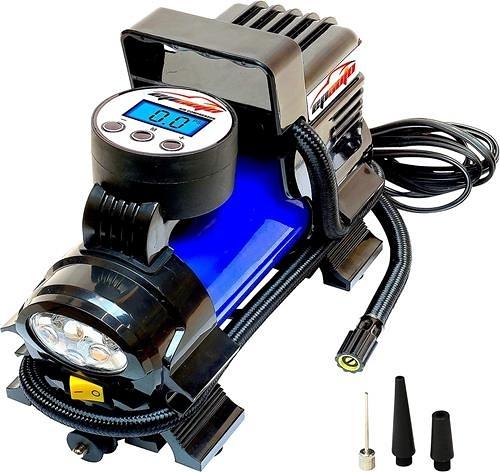 EPAuto 12V直流便攜式空氣壓縮機泵 數位式輪胎充氣機