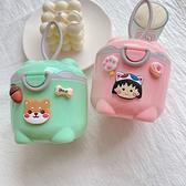 嬰兒奶粉盒便攜式外出密封防潮分裝盒儲存罐輔食米粉盒裝奶粉分格大號卡通圖案