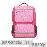 《新品》【IMPACT】怡寶輕量護脊書包- 炫彩菱紋系列-粉色 IM00368PK