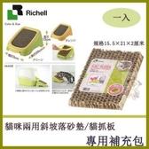*WANG*【ID56231】Richell卡羅斜坡補充包/貓抓板《專用補充包一入》