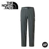 【The North Face 男 彈性長褲《深灰》】3RJR/休閒長褲