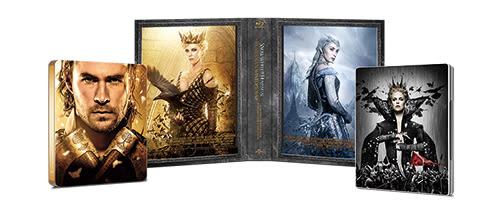狩獵者1+2 鐵盒合輯 BD+3D The Huntsman 1+2 Steelbook Collection