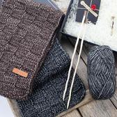 毛線團線手工編織圍巾diy材料打男士圍脖的粗棉絨【不二雜貨】