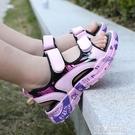 女童涼鞋2020新款時尚夏軟底中大童網紅鞋小女孩小公主兒童沙灘鞋 依夏嚴選