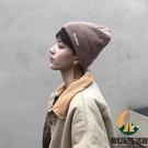 毛線帽男加絨針織帽秋冬季保暖包頭帽【創世紀生活館】