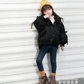 兒童羽絨外套 兒童棉衣冬季外套女童潮冬裝新款女孩棉襖中小童韓版加厚羽絨棉服 麥琪精品屋
