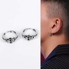 【5折超值價】潮流時尚歐美街頭風格男款鈦鋼耳飾