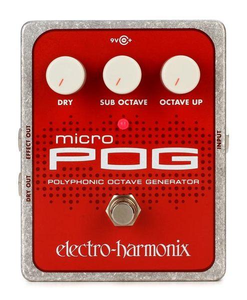 【敦煌樂器】Electro Harmonix Micro POG 多聲部八度效果器