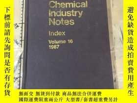 二手書博民逛書店Chemical罕見Industry Notes. Volume
