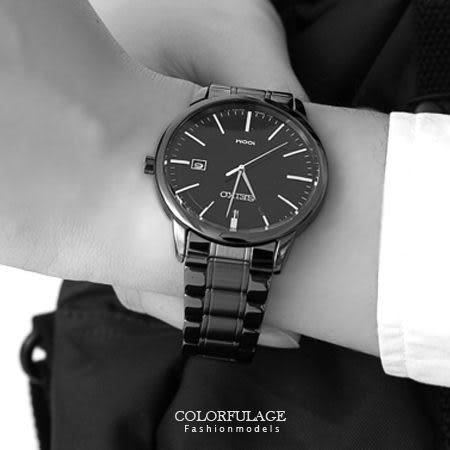 SEIKO精工腕錶 經典簡約線條刻度全黑不鏽鋼帶手錶對錶 防水100米 柒彩年代【NE1353】附贈禮盒+提袋