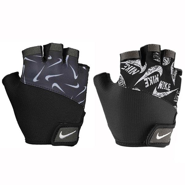 NIKE 重訓手套 半指手套 健身房 女子基礎健身手套 N0002556 【樂買網】