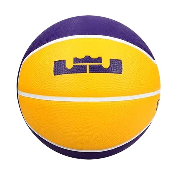 Nike Lebron Playground 4P [N000278472807] 籃球 7號 耐磨 訓練 戶外 黃紫