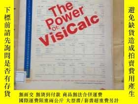 二手書博民逛書店The罕見power of VisiCalcY11418 Rob