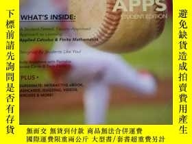 二手書博民逛書店Math罕見Apps [With Access CodeY332