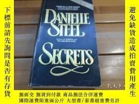 二手書博民逛書店SECRETS,罕見DANIELLE STEELY19865 D