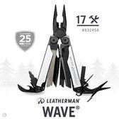 LEATHERMAN WAVE 工具鉗-黑銀限定款 #832458【AH13151】大創意生活百貨