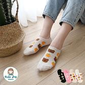 【正韓直送】韓國襪子 頭頂水果動物隱形襪 食物 水果 美食 櫻桃 熊熊 短襪 哈囉喬伊 E69