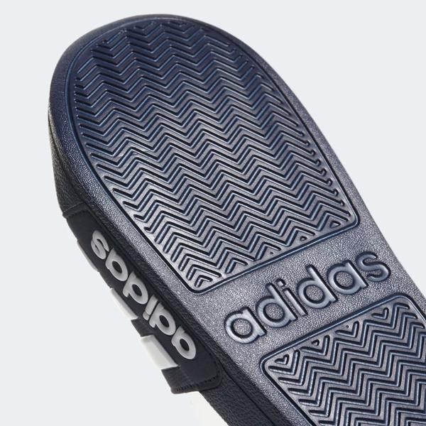 ADIDAS ADILETTE CLOUDFOAM 男鞋 女鞋 拖鞋 防水 海灘 藍 白【運動世界】AQ1703