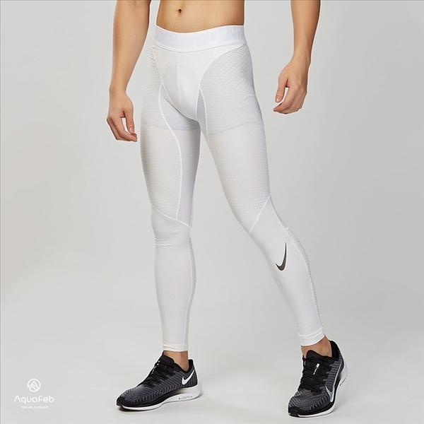 Nike Pro Zonal Strength Tight 男子 白色 運動 內搭 緊身褲 839487-100