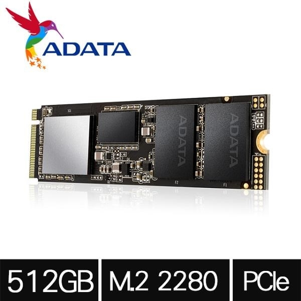 【南紡購物中心】ADATA威剛 XPG SX8200Pro 512G M.2 2280 PCIe SSD固態硬碟/(五年保)