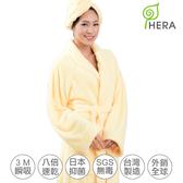 HERA-3M專利瞬吸快乾抗菌超柔纖-浴袍 2入