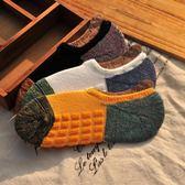 襪子男船襪短襪籃球運動防滑隱形加厚毛巾襪復古純棉低幫毛圈秋冬