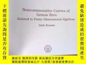 二手書博民逛書店Noncommutative罕見Curves of Genus