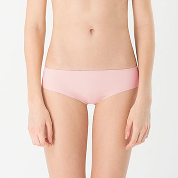 LeRêveParis |舒適無痕內褲|-浪漫粉  特殊彈性織法,柔軟服貼、隱形無痕