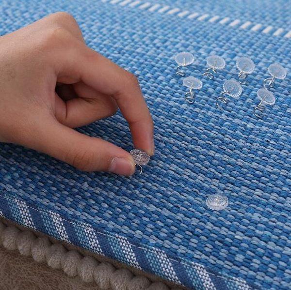 固定沙發墊神器扭扭釘沙發布巾防滑防跑被子罩床單固定器隱形安全【蘇迪蔓】