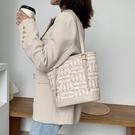 水桶包 大容量包包女包2021新款潮網紅手提包時尚百搭單肩包托特包  【端午節特惠】