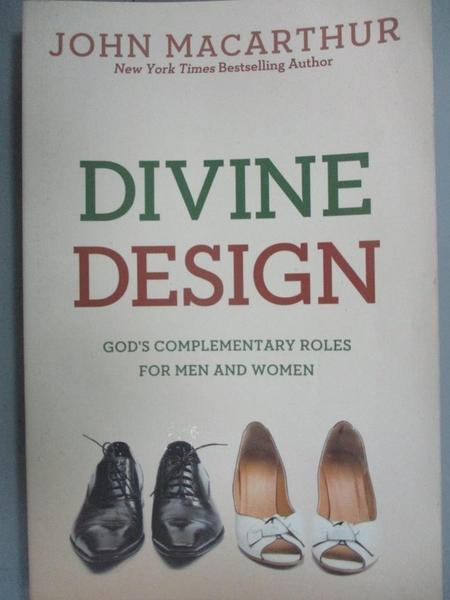 【書寶二手書T7/宗教_KSI】Divine Design: God's Complementary Roles for
