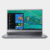 Acer Swift 3 SF314-56G-501T (銀) 14吋纖薄SSD獨顯筆電【Intel Core i5 8265U / 4GB / 256GB SSD / Win 10】