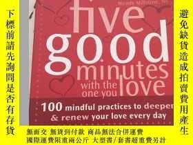 二手書博民逛書店Five罕見Good Minutes with the One