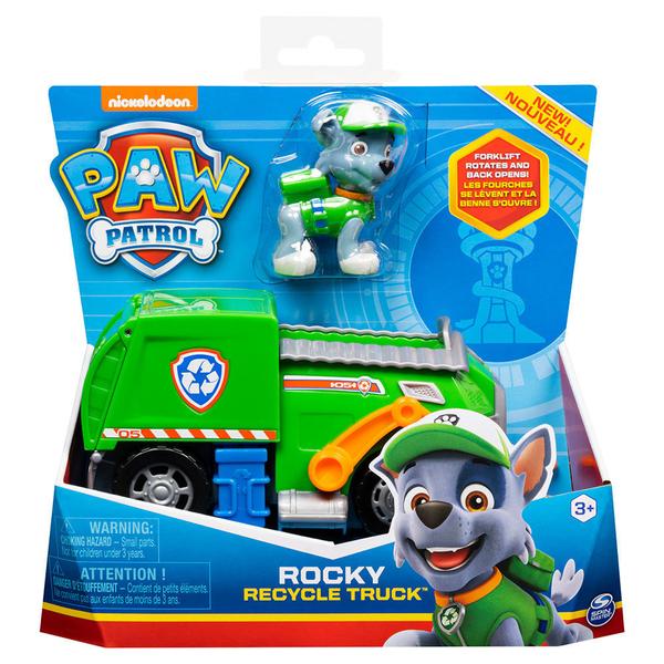 《 汪汪隊立大功 paw patrol 》基本車輛4 - 灰灰(綠)╭★ JOYBUS玩具百貨