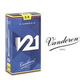小叮噹的店- 全新 法國 Vandoren V21 豎笛竹片/黑管竹片 10片裝 CL-V21