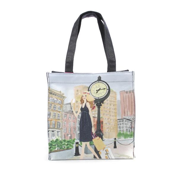 Reiko Aoki青木禮子Tribeca-traveling彩繪手提包730018-114
