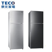 [TECO 東元]330公升 雙門變頻冰箱-晶鑽灰/石曜黑 R3501XHS / R3501XBR