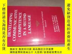 二手書博民逛書店Developing罕見Communicative Compet