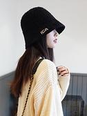 漁夫帽女保暖水桶帽秋冬韓版保暖盆帽【極簡生活】
