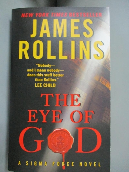 【書寶二手書T1/原文小說_JKC】The Eye of God: A Sigma Force Novel (Sigma Force Novels)_James Rollins