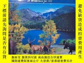 二手書博民逛書店Rocky罕見mountain national park——a wildetness for all( 美國風景