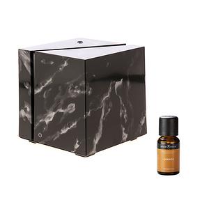 (組)立方黑武士香氛水氧機x1+SH美國精油-甜橙x1